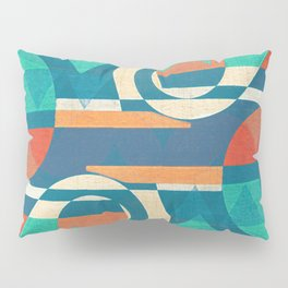 Mountains and Waves Pillow Sham