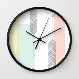 Love Struck Wall Clock