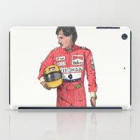 senna iPad Cases featuring SENNA  by calds29