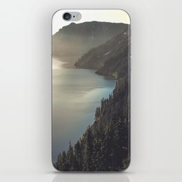 First Light at the Lake II iPhone Skin