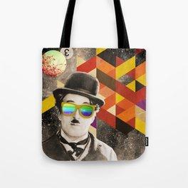 Public Figures Collection - Chaplin Tote Bag
