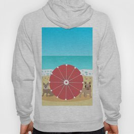 Holiday Romance - Behind the Red Umbrella Hoody