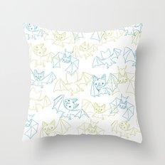 Bat Butts! Throw Pillow