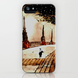 london lights iPhone Case