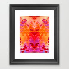Drippy Framed Art Print
