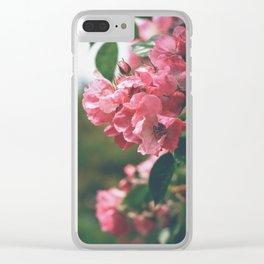 Flower XVIII Clear iPhone Case