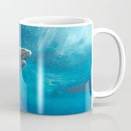 Lemon Shark Rising Coffee Mug