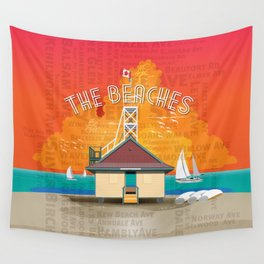 The Beaches Wall Tapestry