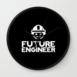 Future Engineer Wall Clock