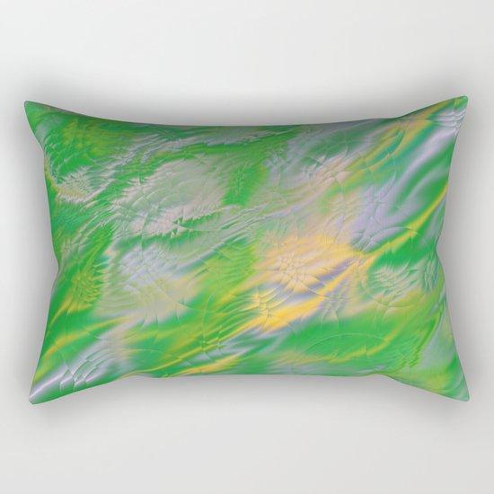 Pearl Green Water Rectangular Pillow