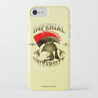 skyrim iPhone & iPod Cases featuring Imperial University(Skyrim) by Chubbybuddhist