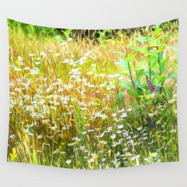 Field of Daisies Wall Tapestry