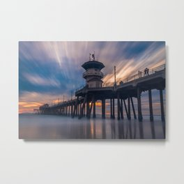 Stopped in time Metal Print