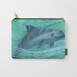 Vaquita Porpoise Swimming in Emerald Waters Carry-All Pouch