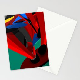 Paused Acceleration Stationery Cards