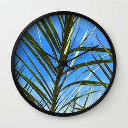 Los Angeles Foliage (Scene 2) Wall Clock