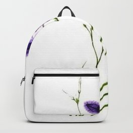Vintage Wildflower Purple Backpack