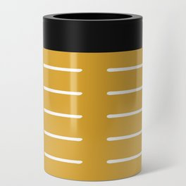 organic / yellow Can Cooler