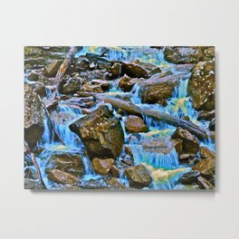 The Runoff Metal Print
