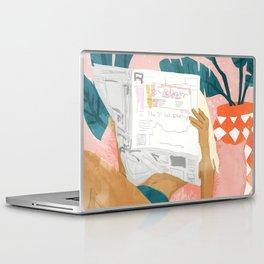 Morning News Laptop & iPad Skin