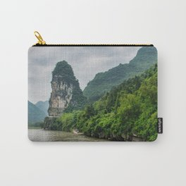 Karst formation on the Li River Guilin, China Carry-All Pouch