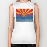 arizona Biker Tanks featuring Arizona by Michael Creese