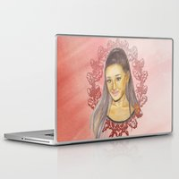 ariana grande Laptop & iPad Skins featuring Ariana II by Share_Shop