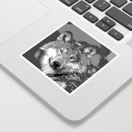 Wolf20151104 Sticker