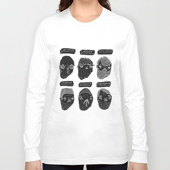 Black heads Long Sleeve T-shirt