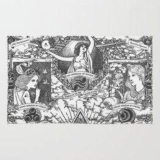 Legend of Zelda - The Three Goddesses of Hyrule Geek Line Artly Rug