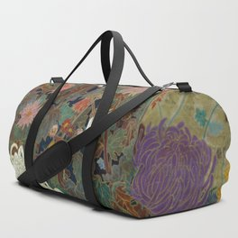 flower【Japanese painting】 Duffle Bag