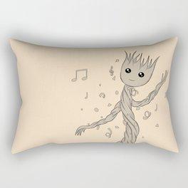 Groot baby Rectangular Pillow