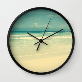The Passing Storm Wall Clock