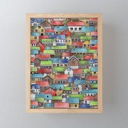 Feroe Islands, Denmark Framed Mini Art Print