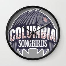 Columbia Songbirds Wall Clock
