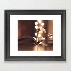 Double Cliche Framed Art Print
