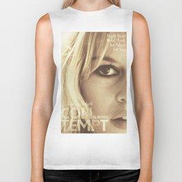 Brigitte Bardot, Contempt, movie poster, Le Mépris, Jean-Luc Godard, Fritz Lang, Biker Tank