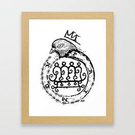 Hail King Paimon! Framed Art Print
