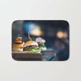 Freshly Grilled Burgers Bath Mat