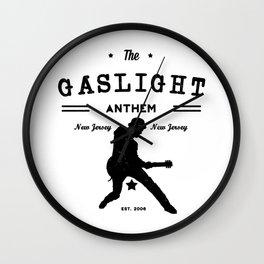 The Gaslight Athem Wall Clock