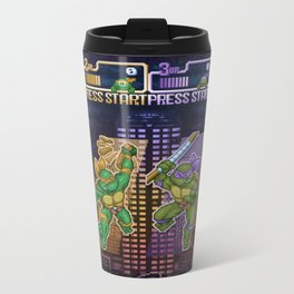 Mutant Ninja Turtle Teenagers Metal Travel Mug