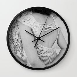 Dreams come with eyes wide open Wall Clock