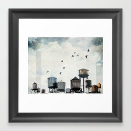 Watertanks 2 Framed Art Print