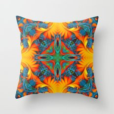 Mandala #8 Throw Pillow