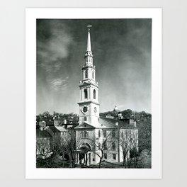 Providence Fist Baptist Church Art Print