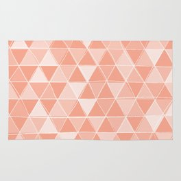 Coral Triangles Rug