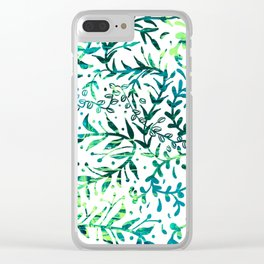 Doodles of Vines Clear iPhone Case