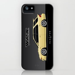 Blaze Yellow GF8 WRX iPhone Case