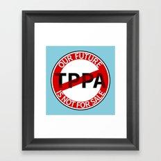 TPPA Framed Art Print