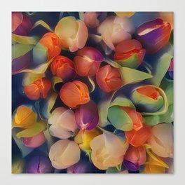 Flower Fantasy - Tulips Canvas Print